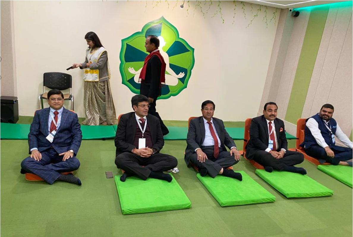 JITO Trustees doing meditation