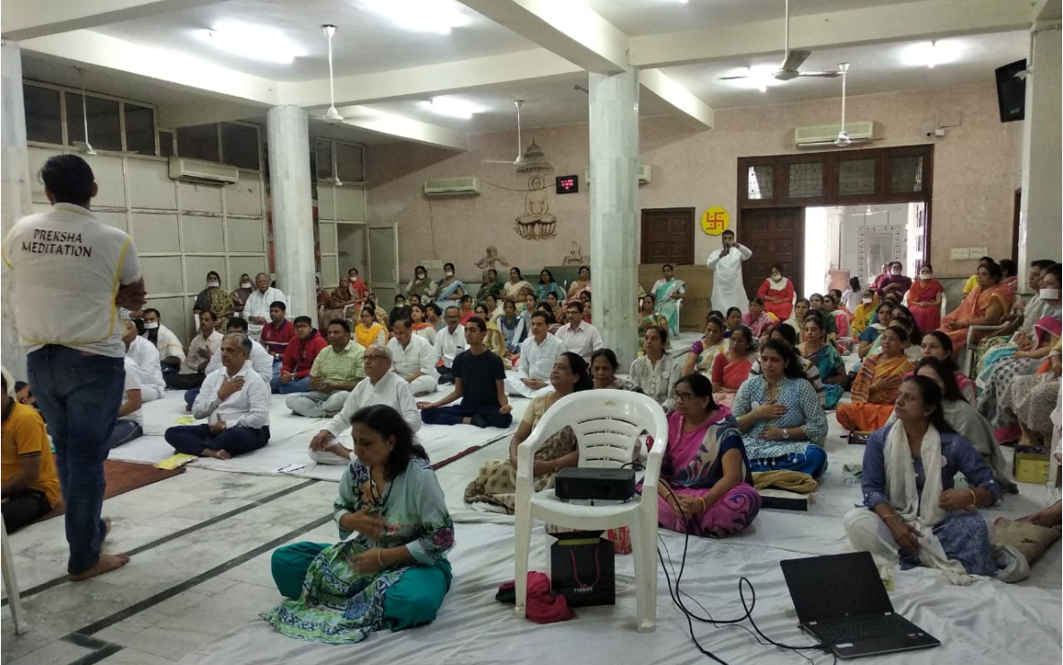 one day meditation camp outdoor